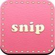 可愛いスタンプ画像検索アプリ『snip』-スタンプ・絵文字・壁紙・写真・デコメ・顔文字デコ・おもしろ系・レス画像が無料で検索!Twitter、Facebook、メッセンジャーに簡単画像送信