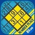 超定番 ナンバープレース Blue
