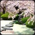 Zen Garden -Spring- ライブ壁紙