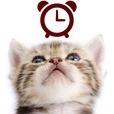 猫アナログ時計ウィジェット・目覚まし時計アラーム
