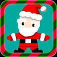 サンタクロースVS雪だるま - クリスマスのジャンプゲーム