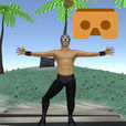 VR Desert Island for Google CardBoard