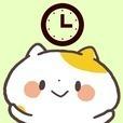 かわいい時計「関西弁にゃんこ」アナログ時計ウィジェット無料
