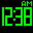 デジタル時計(シンプル)