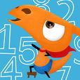 「すらすら!かずあそび」お子さまが数字とふれあう初めの一歩、1から10までの数字と遊びます