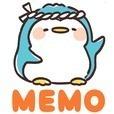 メモ帳 寿司ぺん・待受に可愛いペンギンのメモ帳