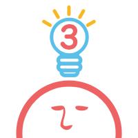 四角い頭を丸くする3 - アハ体験の脳トレテストゲーム