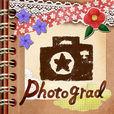 おしゃれ実写フレームや使えるスタンプ素材盛りだくさんのPhotograd!女子のワクワクが詰まったアプリ!