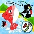 パクパク魚釣り
