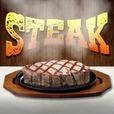 ステーキ 〜最高級ステーキをグラグラ山盛り〜