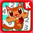 親子で遊んで学習!幼児子供向け知育脳トレアプリ数字迷路ゲーム