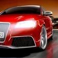 アスファルト:Audi RS 3