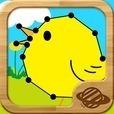 つないで遊ぼう!てんせんおえかき:幼児・子供向け無料で学べる知育アプリ