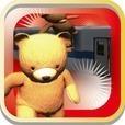 ストレス発散!満員電車からクマを追い出せ!