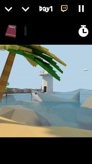 脱出ゲーム -サメに囲まれた無人島-のスクリーンショット_4