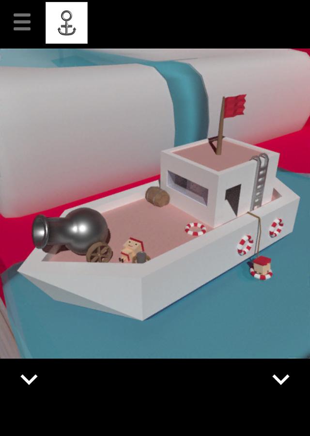 脱出ゲーム サメがいる部屋からの脱出のスクリーンショット_3