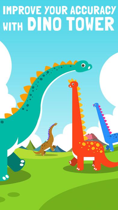 ダイノタワー Dino Tower ブロック積み上げゲームのスクリーンショット_1