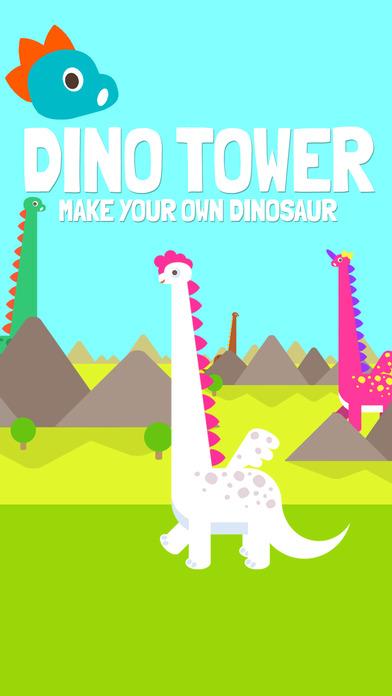 ダイノタワー Dino Tower ブロック積み上げゲームのスクリーンショット_2