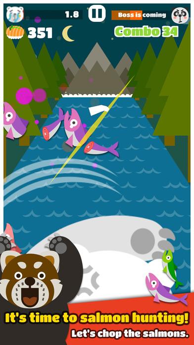 Big Bear: Smash the Salmonのスクリーンショット_1