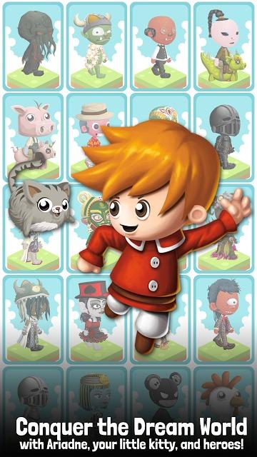 ドリームステッパー:Tapping RPG!のスクリーンショット_1