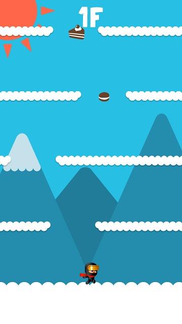 ニンジャ ゴー : 無限ジャンプのスクリーンショット_2