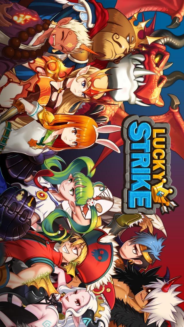 ラッキーストライク: スロットRPGのスクリーンショット_1