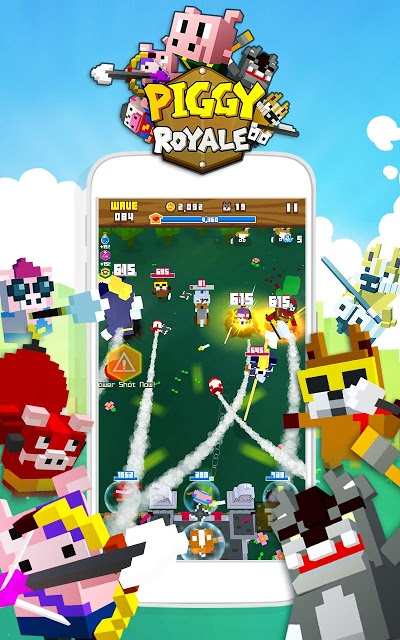 Piggy Royale : Wolf Warsのスクリーンショット_1