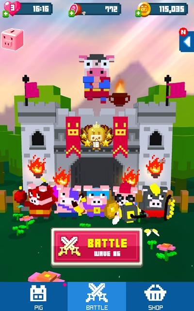 Piggy Royale : Wolf Warsのスクリーンショット_4