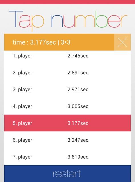 Tap numberのスクリーンショット_3