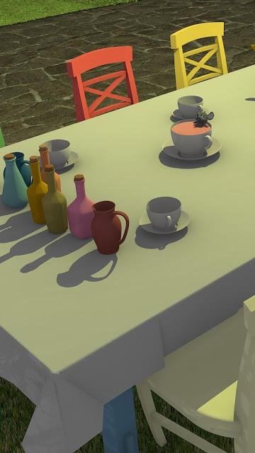 脱出ゲーム Tea Partyのスクリーンショット_1