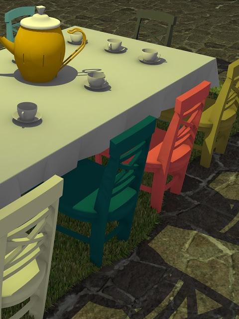 脱出ゲーム Tea Partyのスクリーンショット_4