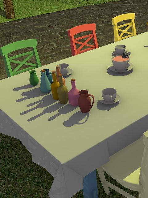 脱出ゲーム Tea Partyのスクリーンショット_5