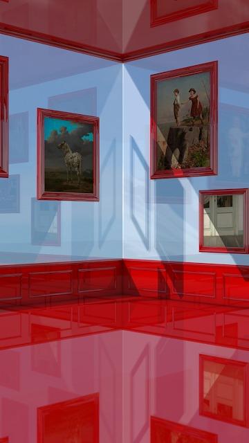 脱出ゲーム 赤い部屋のスクリーンショット_4
