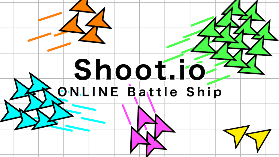 Shoot.io ONLINE Battle Shipのスクリーンショット_1