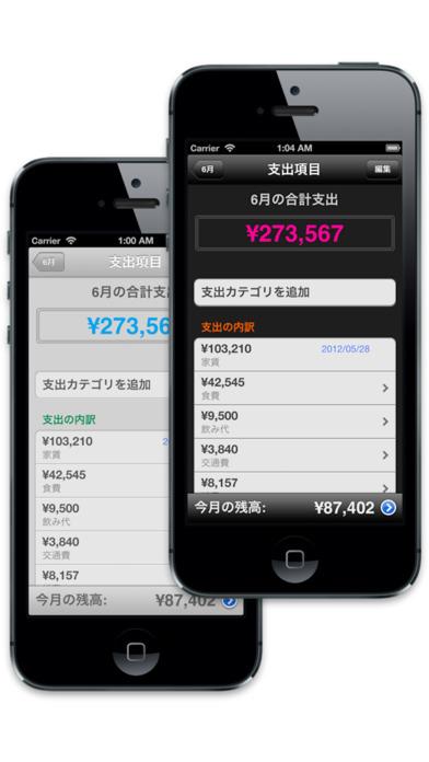 家計簿くんProのスクリーンショット_3