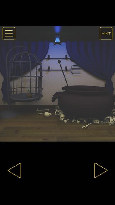 脱出ゲーム - 魔女の家からの脱出のスクリーンショット_1