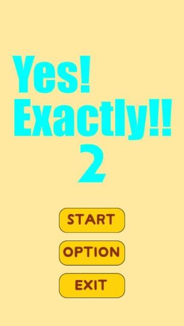Yes!Exactly!!2のスクリーンショット_1