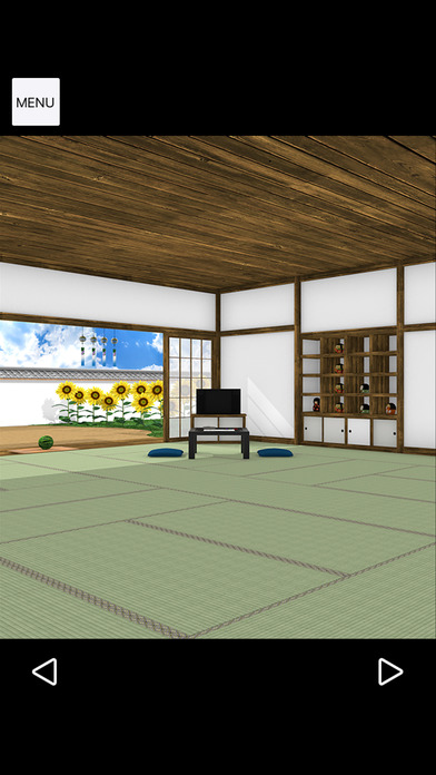 脱出ゲーム Obon ひまわり溢れる田舎の古民家のスクリーンショット_5