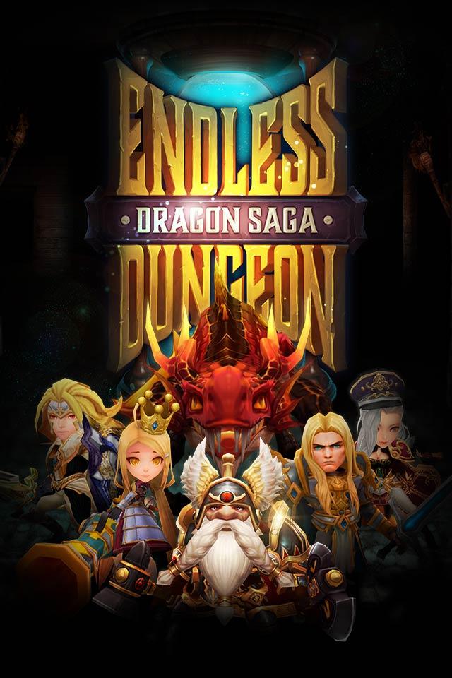 ENDLESS DUNGEON : DRAGON SAGA (エンドレスダンジョン : ドラゴンサーガ) のスクリーンショット_1