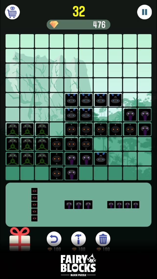頭が良くなる ブロック パズル ゲーム FairyBlocksのスクリーンショット_5