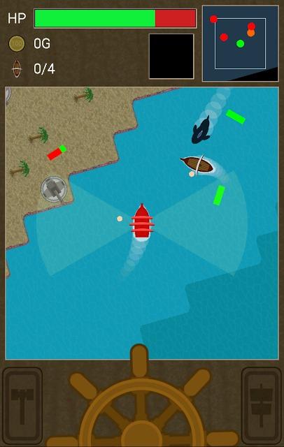 海賊マスター : 海戦アクションゲームのスクリーンショット_1