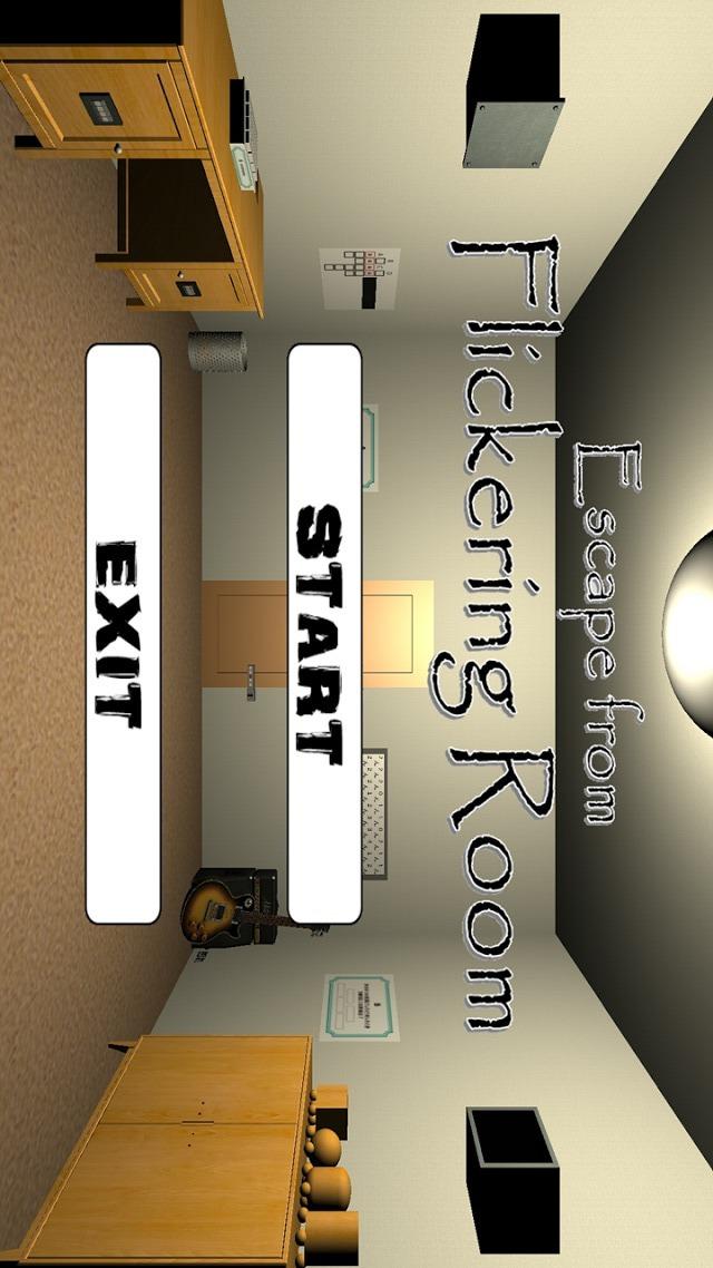 脱出ゲーム Flickering Roomのスクリーンショット_1