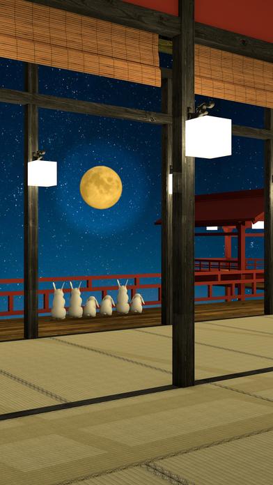 脱出ゲーム Otsukimi お月見うさぎとかぐや姫のスクリーンショット_2