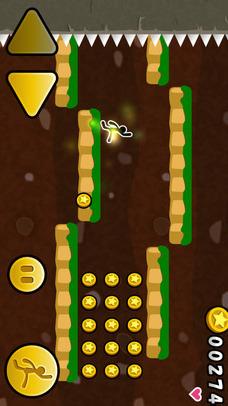ジャンプでコインのスクリーンショット_2