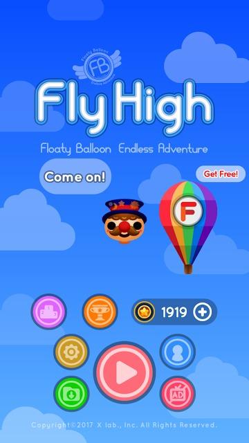 Fly High : Floaty Balloonのスクリーンショット_1