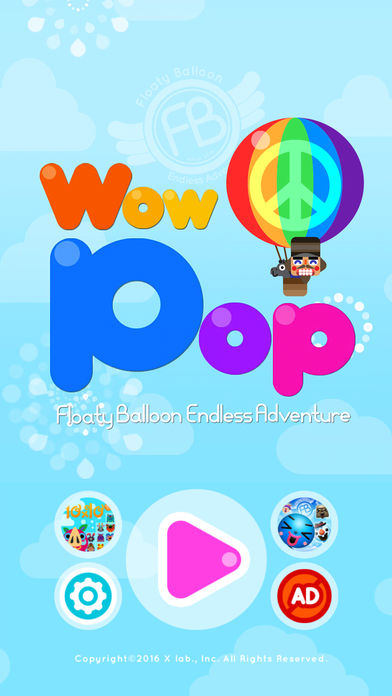 WowPop : Floaty Balloonのスクリーンショット_1