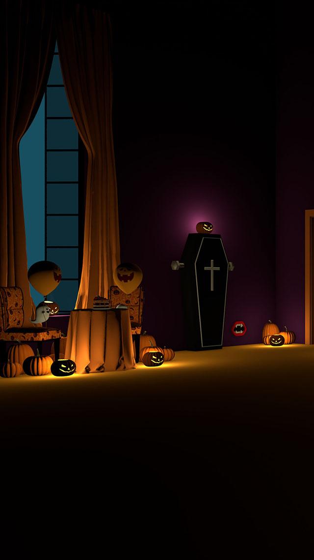 脱出ゲーム Halloween おばけとかぼちゃと魔女の家のスクリーンショット_1