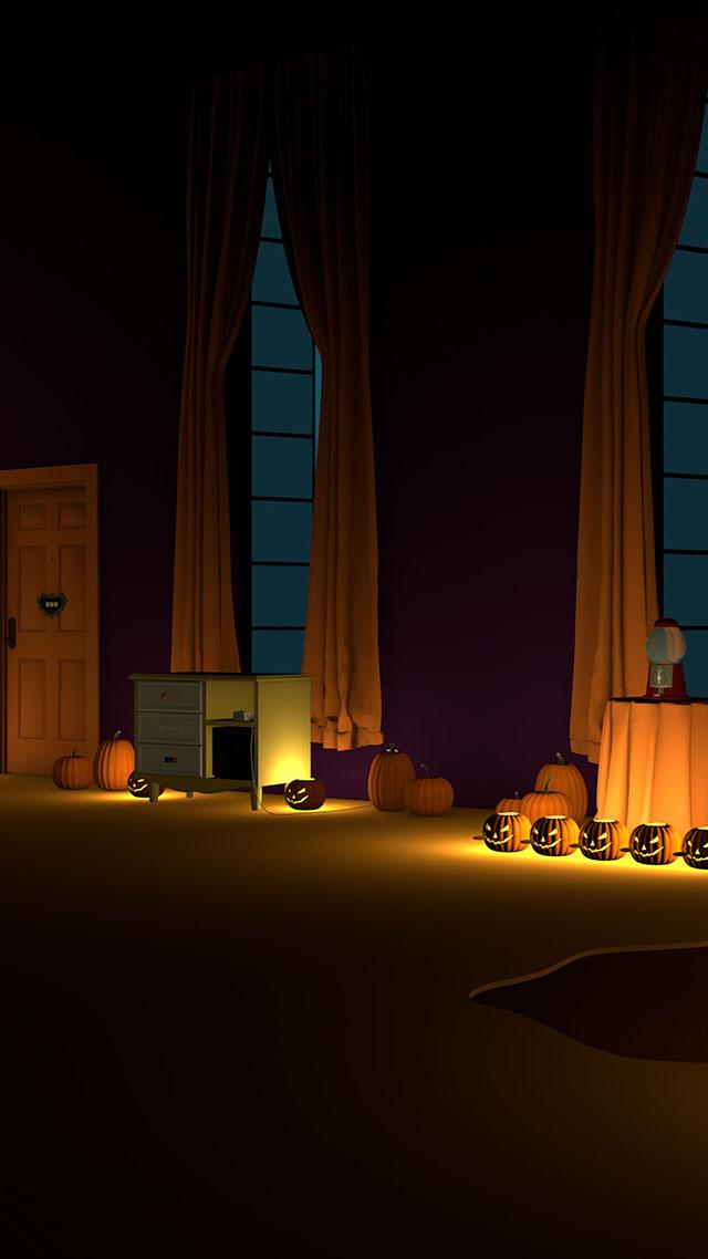脱出ゲーム Halloween おばけとかぼちゃと魔女の家のスクリーンショット_2
