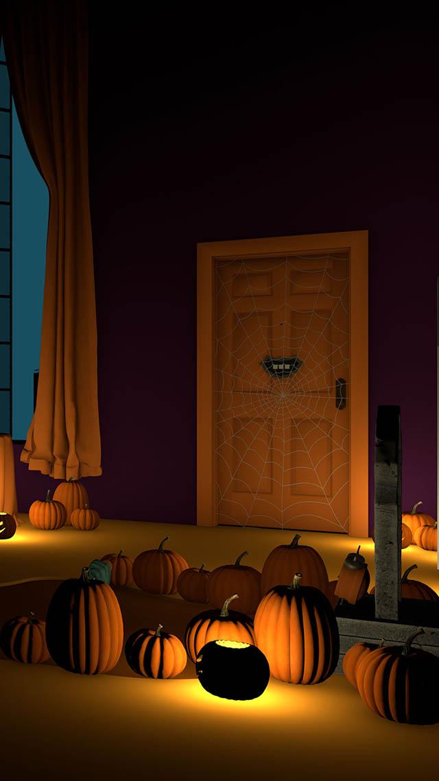 脱出ゲーム Halloween おばけとかぼちゃと魔女の家のスクリーンショット_3