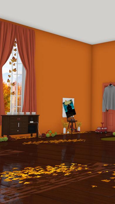 脱出ゲーム Autumn 紅葉とリスの家のスクリーンショット_1